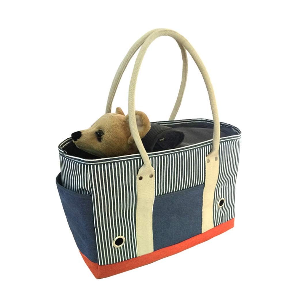 bluee Newly Designed-Expandable Soft Sided Pet Carrier,Pet Travel Carrier Soft Sided Portable Bag for Cats, Small Dogs, Kittens or Puppies (color   bluee)