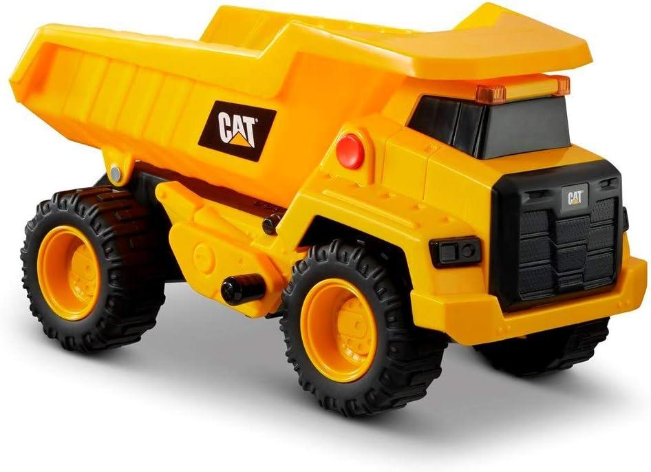 Caterpillar, Camión Carga 30cm L&S Power Juguetes, Color Amarillo (AJ 82266)