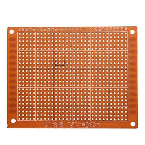 5Pcs 7x9cm PCB Prototyping Printed Circuit Board Prototype Breadboard BephaMart BM00001