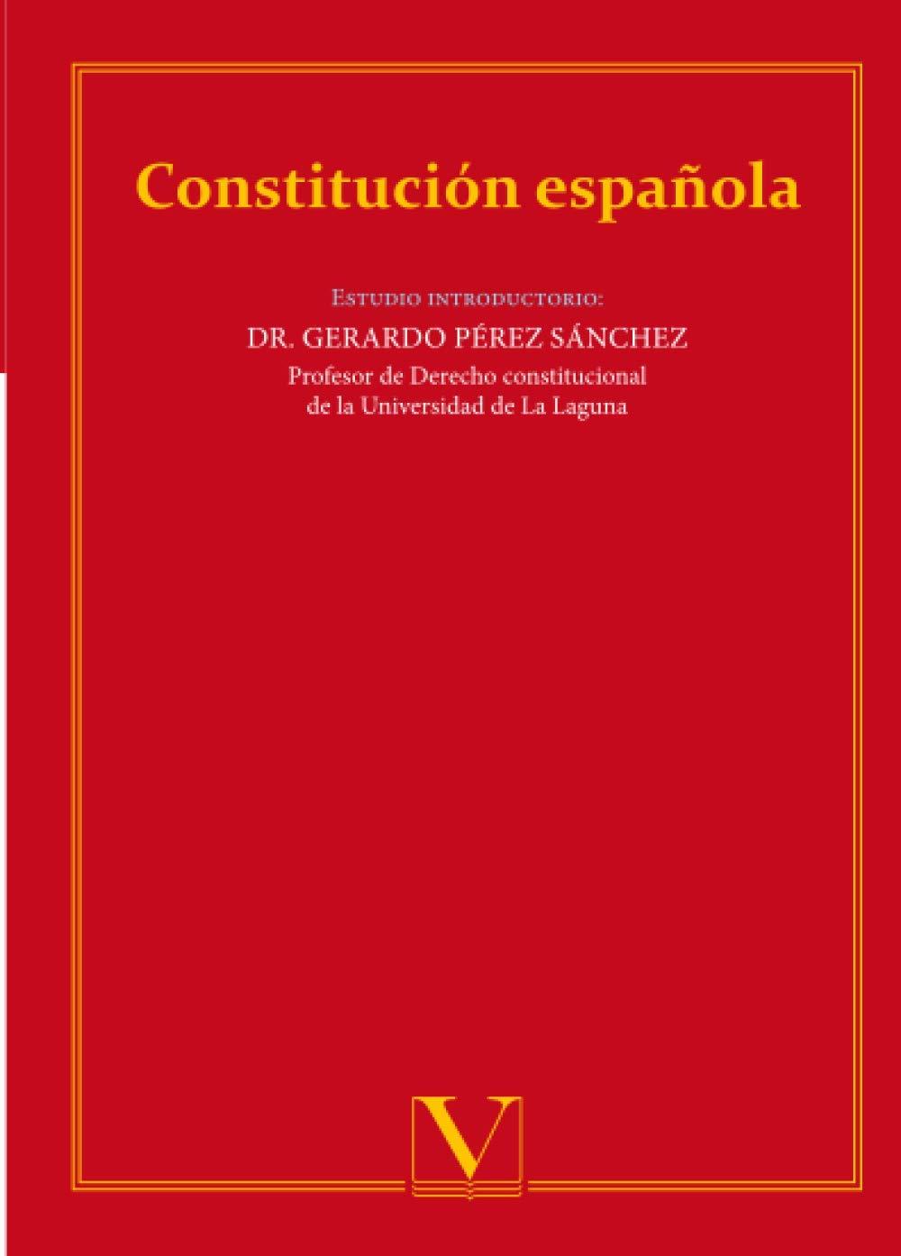 Constitución Española (Ensayo): Amazon.es: Pérez Sánchez, Gerardo: Libros