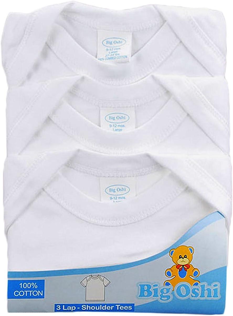 Big Oshi 3-Pack Lap Shoulder T-Shirts