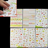 Korean Style Cute Cat 6 Sheets Diary Scrapbook Book Album Decoration Sticker Gift