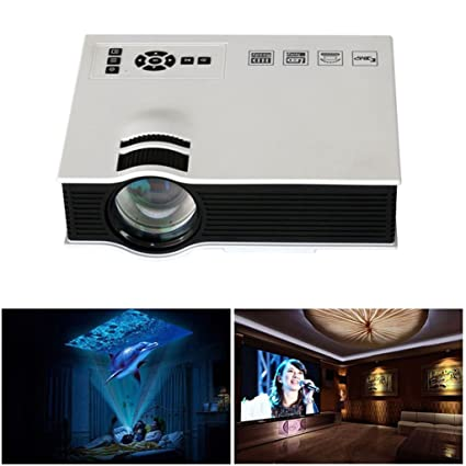 Amazon.com: Projector, EEDI Original Portable Full HD 3D ...