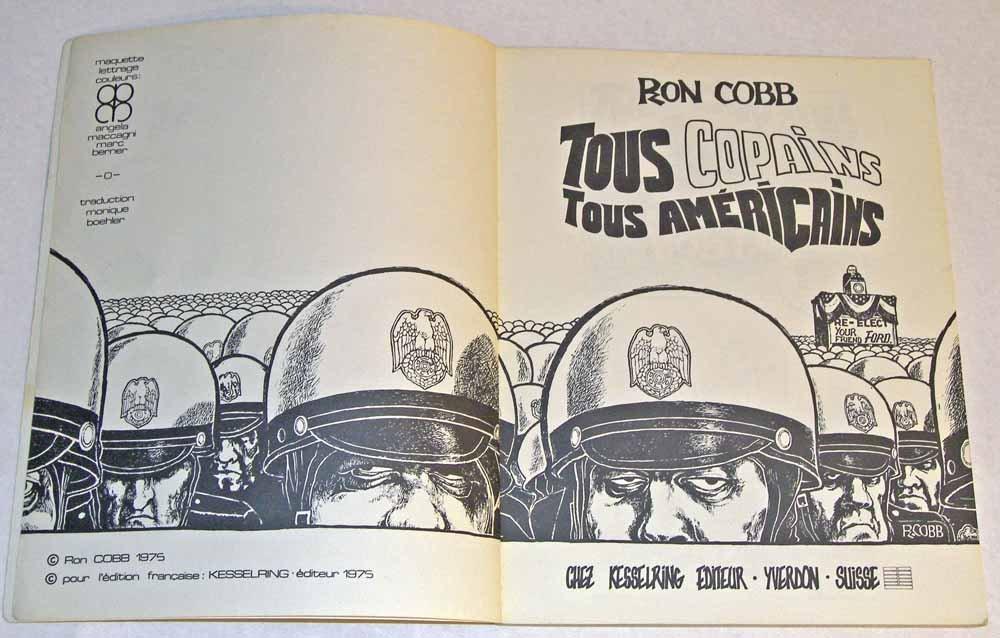 Tous Copains Tous Americains: Amazon.es: Ron Cobb: Libros