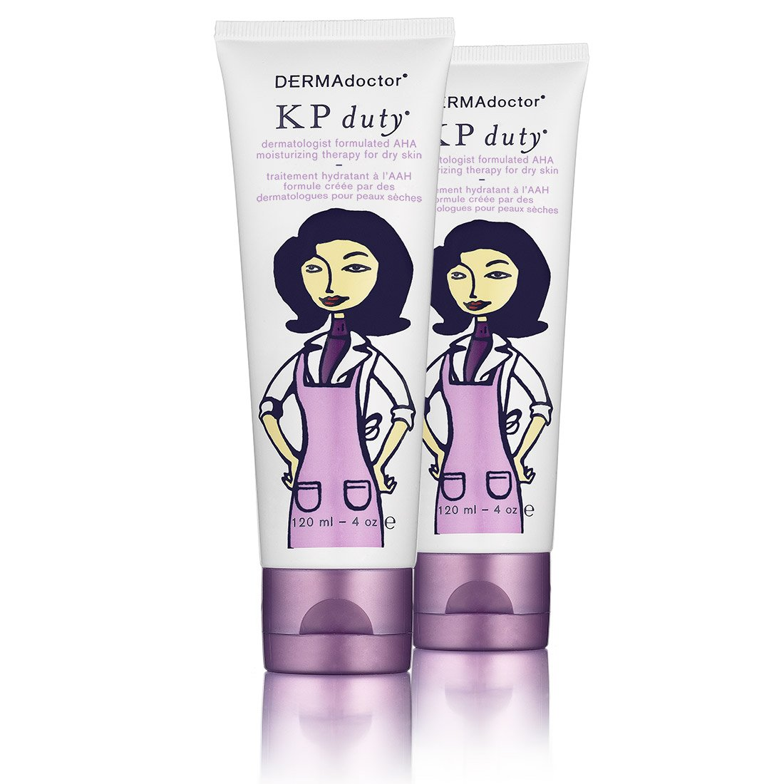 DERMAdoctor KP Double Duty dual pack - 240 ml (two 120 ml tubes)