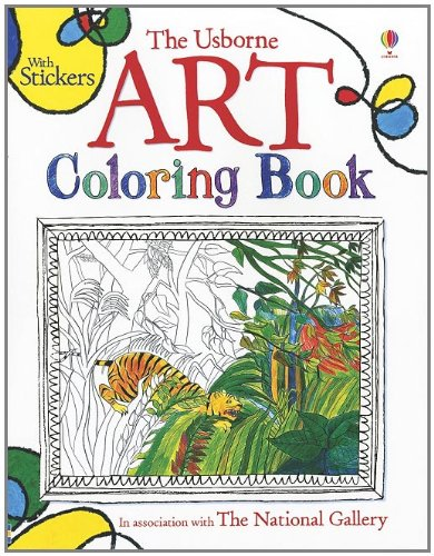 The Usborne Art Coloring Book (Coloring Books): Sarah Courtauld ...
