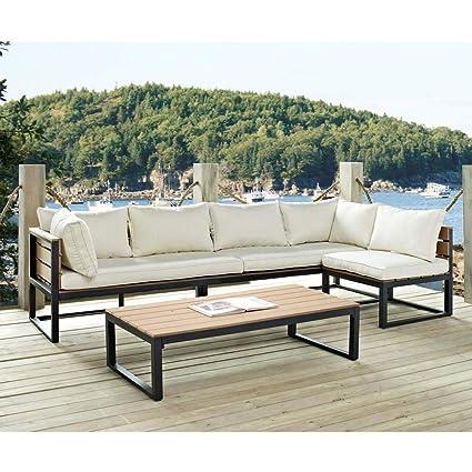 Amazon Com Starsun Depot 4 Piece Modern Outdoor Patio Furniture Set