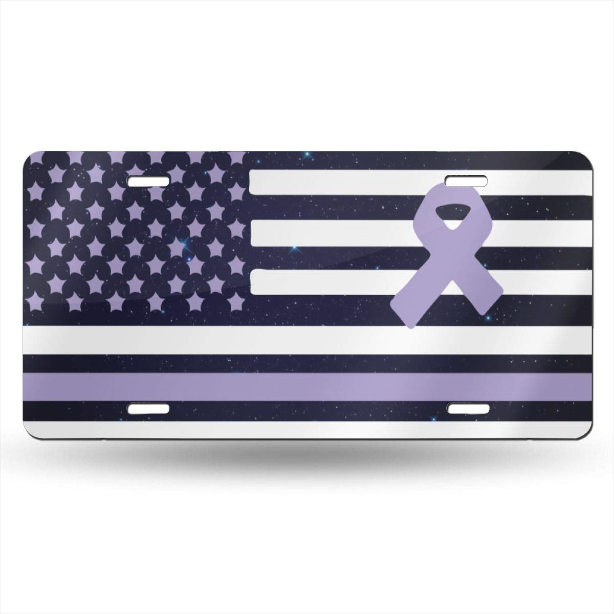 Personalized Novelty Front License Plate Decorative Vanity Aluminum Auto Car Tag 12 x 6 Inch