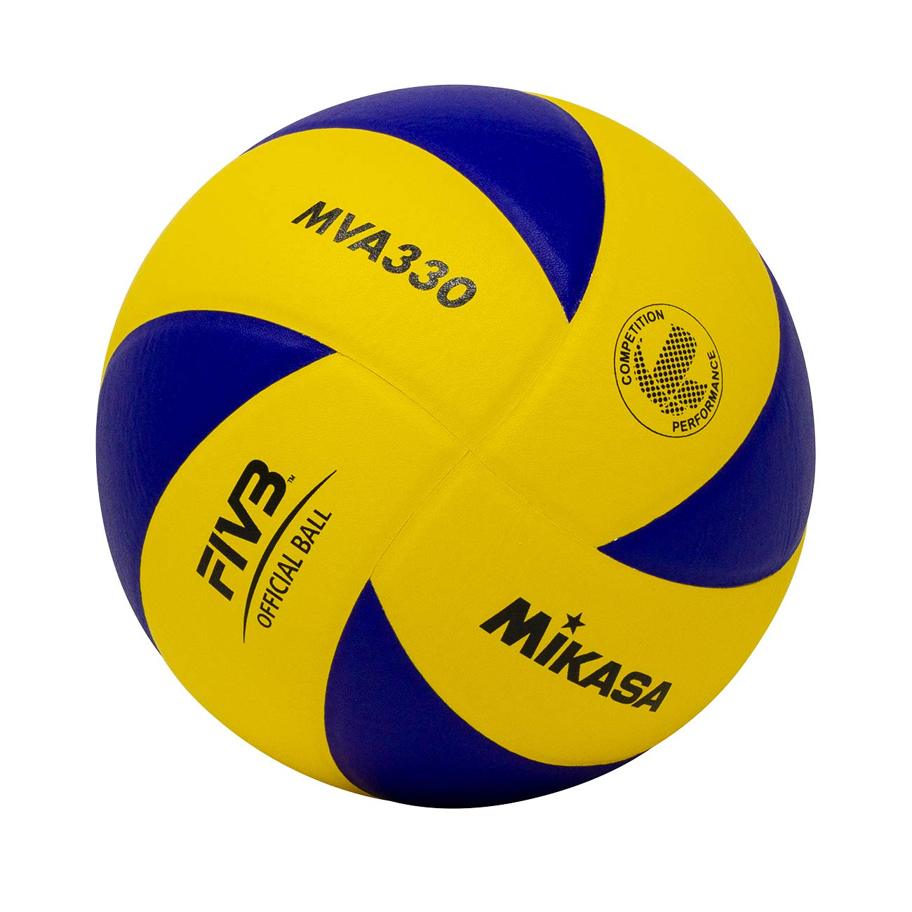 Buy Mikasa Mva330 Spiral Club Volleyball Blue Yellow Online At Low Prices In India Amazon In