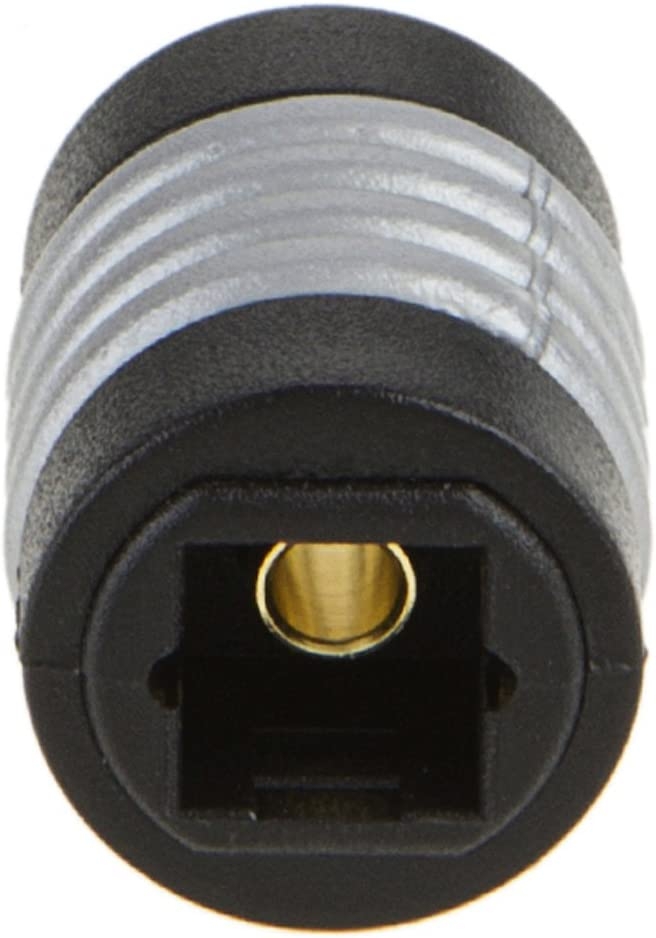 5-Pack Optical Toslink Female to Toslink Female Extention Connector Optical Extension Coupler,CableCreation