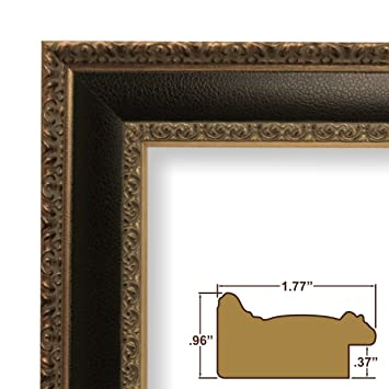 Amazon.com - 18x24 Picture / Poster Frame, Distressed Ornate Finish ...