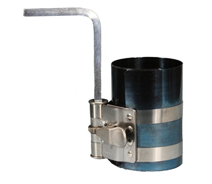 New Ratcheting Piston Professional Mechanics 2 1//8 to 7 Biltek NPTC-PRC003-2M Large Ring Compressor
