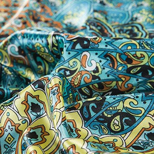 Fadfay Home Textile Peacock Feather Bedding Set Peacock