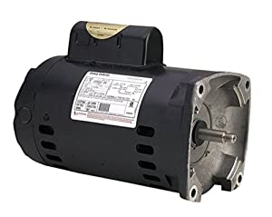 A.O. Smith B2852 3/4 HP, 3450 RPM, 1 Speed, 230/115 Volts, 5.4/10.8 Amps, 1.25 Service Factor, 56Y Frame, PSC, ODP Enclosure Square Flange Pool Motor