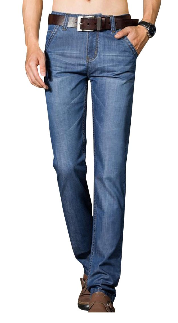 YUNY Men Formal Regular Fit Rugged Wear Travel Safari Jean Pants 1 35