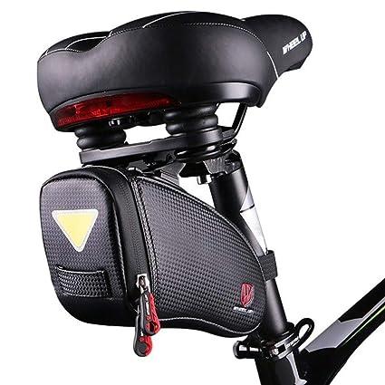 Amazon Com Camgo Bike Wedge Saddle Bag Mountain Road Bike Seat