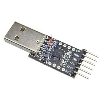 CP2102 USB 2.0 to TTL UART Module 6Pin Serial Converter STC Replace FT232 Module