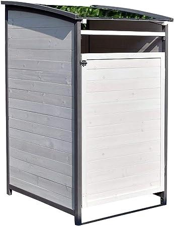 Keter Mülltonnenbox Store it Out Midi für 2 Abfalltonne Schwarz 845L