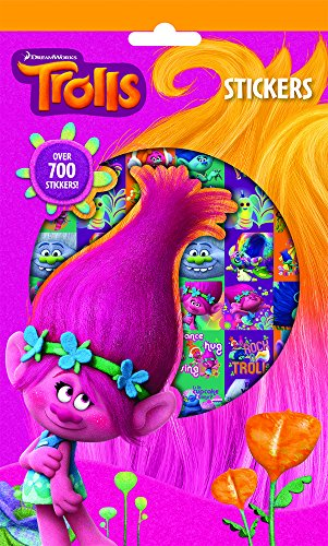 Dreamworks Trolls Craft Supplies 700 Stickers