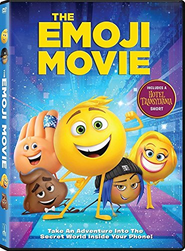 The Emoji Movie DVD 2017, Nice Movie for Family