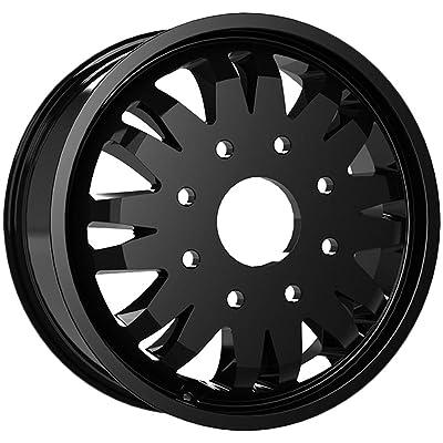 "Vision 401 Rival Dually Inner 20x8.25 8x6.5"" Satin Black Wheel Rim 20"" Inch: Automotive"