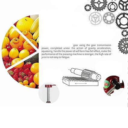 Compra Mustbe Strong Exprimidor casero de la Fruta cítrica, rápido fácil y Limpio, jugos de juicer del Manual Comercial Granada, Naranjas, Limones, Cales, ...