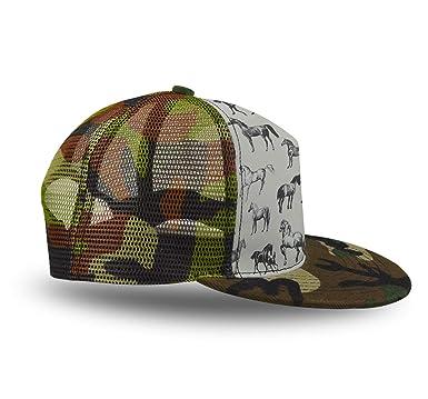 4b1a09f0 Amazon.com: YongColer Adjustable Baseball Cap Dad Hat Men Women-Wild ...