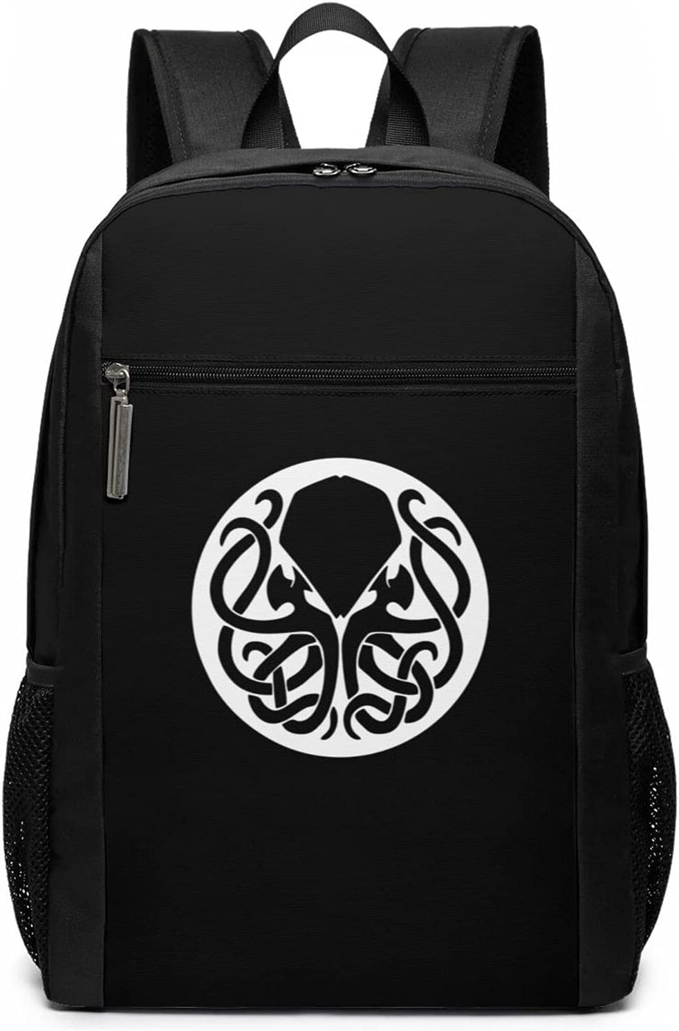 17Inch Cthulhu Badge Computer Bags Durable Waterproof Bags Laptop Backpack For Mens Womens Students