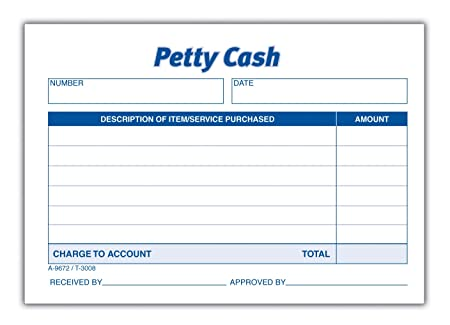 Petty Cash Log  Petty Cash Management  Introduction To Petty