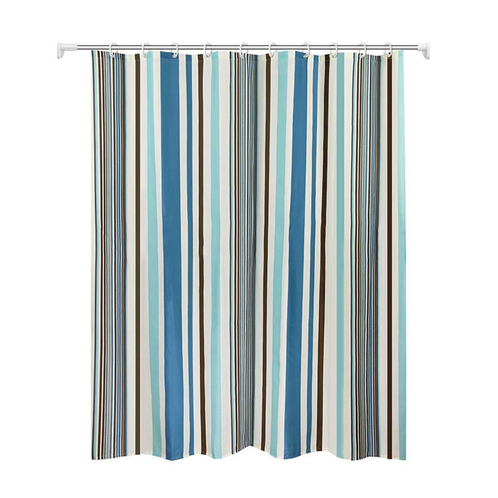 Curtain Bath Room Shower Curtain Waterproof Padded Curtain Door Curtain Partition Shower Curtain Shower Equipment (Size : S)