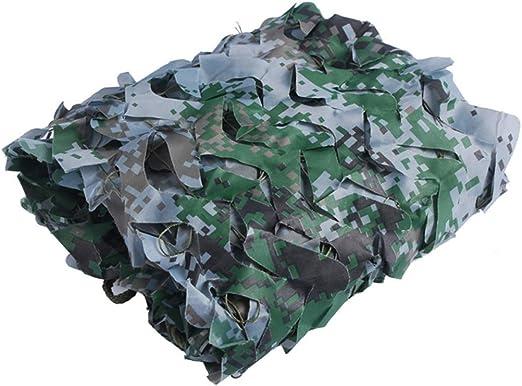 Portátil Red de camuflaje Caza Ejército Militar Red de camuflaje ...