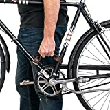 Durable Thick Leather Bicycle Frame Handle (Bike Handle) Handmade by Hide & Drink :: Bourbon...