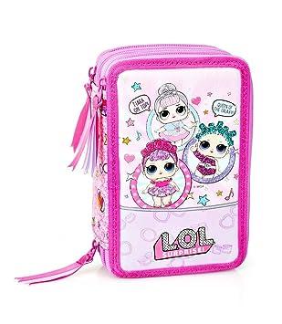 kids4shop L. O. L Surprise LOL 44 X Piezas 3-fächer Estuche ...