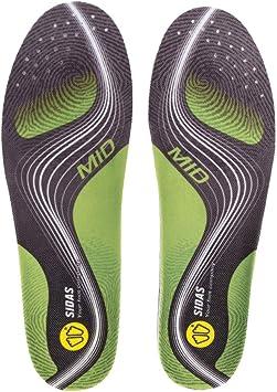 [ シダス ] Sidas インソール 3フィート・アクティブ・ミッド 3 Feet Active Mid 377656 ランニング タウンユース 衝撃吸収 通気性 中敷き シューズアクセサリー [並行輸入品]
