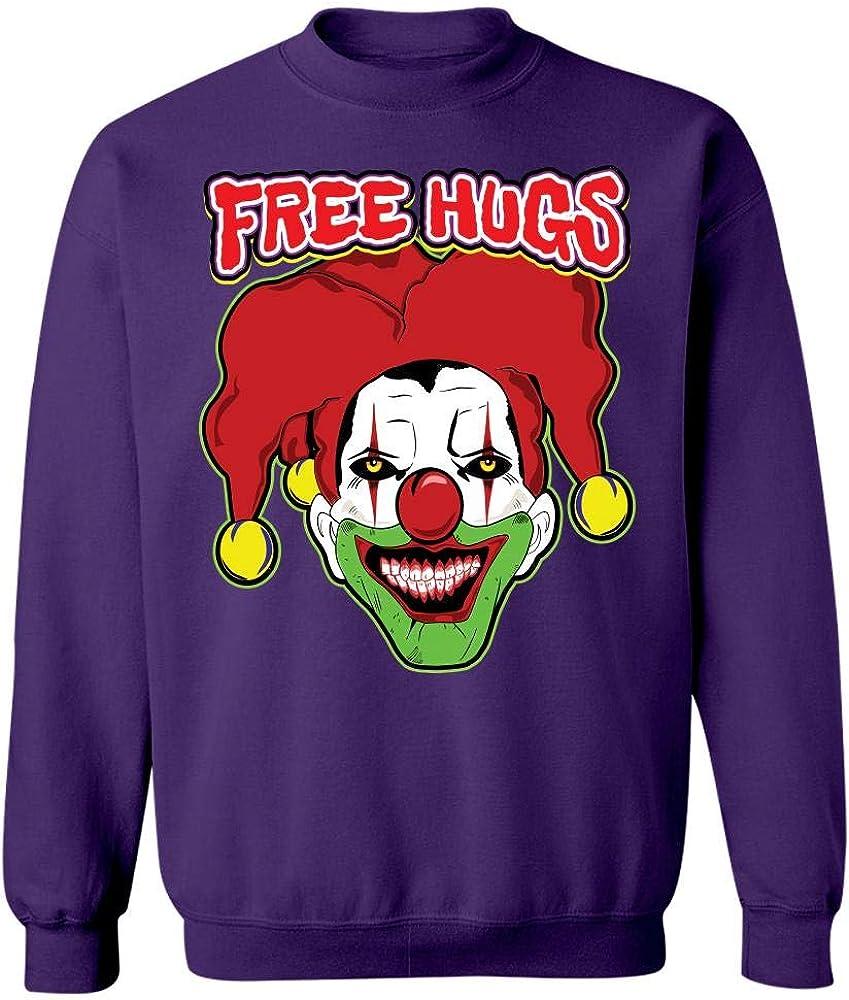 21+ Free Hugs Clown Sign Gif