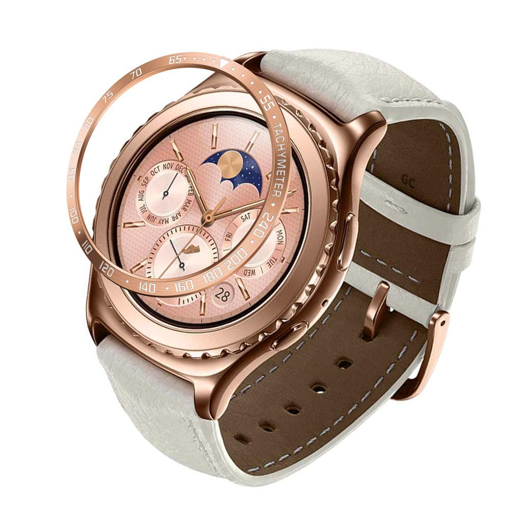 para Samsung Gear S2 Classic Scale Watch Anillo Adhesivo Cover ...