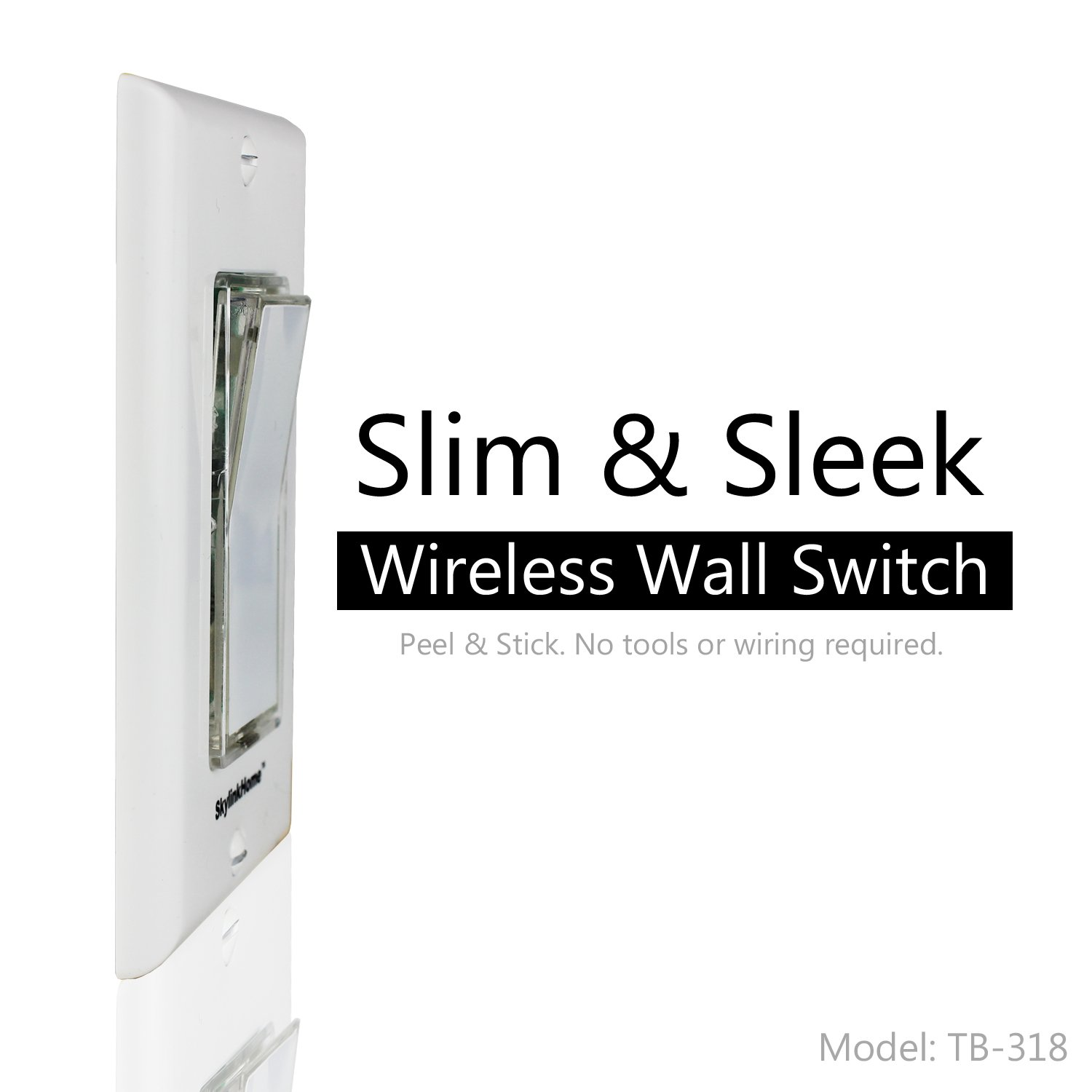 Sk 8 Wireless Diy 3 Way On Off Anywhere Lighting Home Control Wall Rewire A Switch To An Overhead Fixture Set No Neutral Wire Required Skylink Remote
