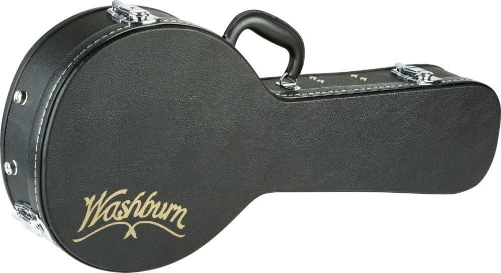 Black Washburn MC90 Hardshell A-Style M1S Mandolin Case