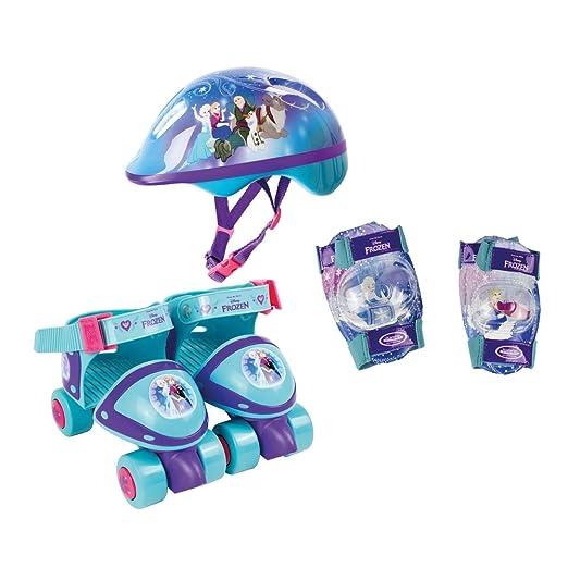 47 opinioni per Disney Frozen- Pattini a rotelle con set di protezioni e borsa, misura 24-29