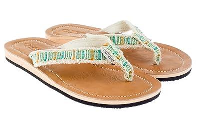 Damen Im Sandale Gr LederErgonomisch 43 Mit Surfer Look 36 Coolen Fußbett Echt Geformten jSpqLzUMVG