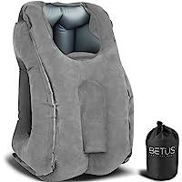 BETUS Dreamer Comfort Inflatable Travel Pillow for Airplane - Ergonomic Design & Comfortable Neck Head Rest Pillow for…
