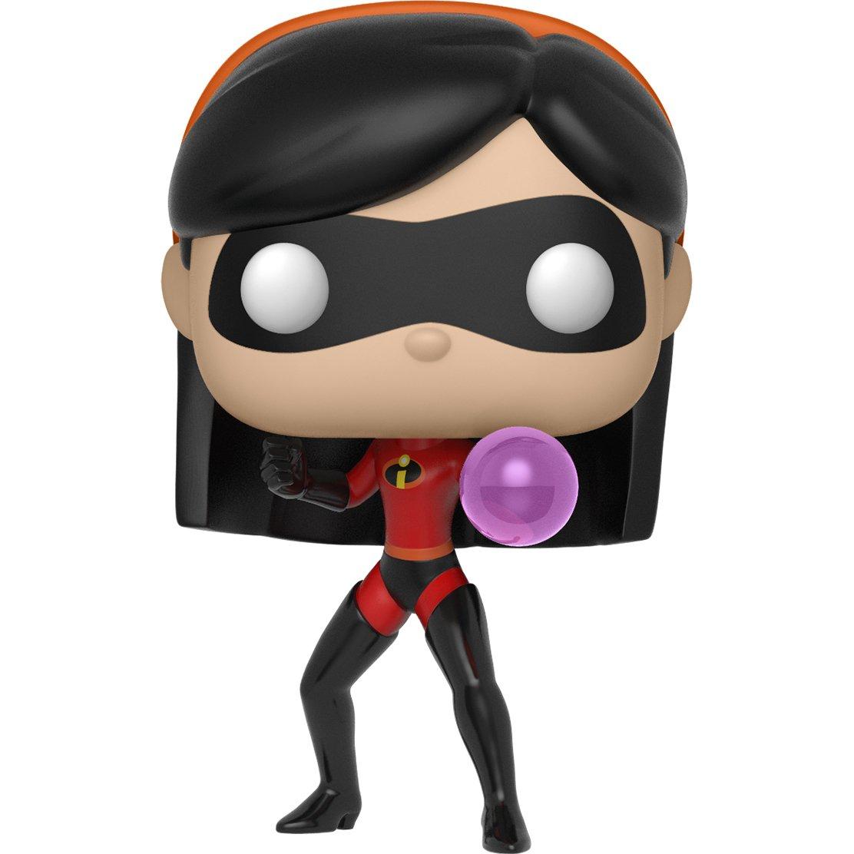 Vinyl Figure /& 1 PET Plastic Graphical Protector Bundle #365 // 29201 - B Violet: Disney Pixar Incredibles 2 x Funko POP BCC9408406