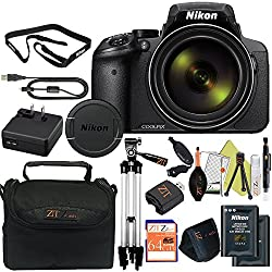 Nikon Coolpix P900 16mp Point & Shoot Digital Camera (Advanced Kit, Frustration Free Packaging)