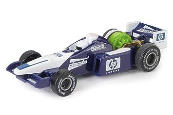 Simm 50323 - Darda F1 coche blanco / azul 9cm: Amazon.es: Juguetes y juegos