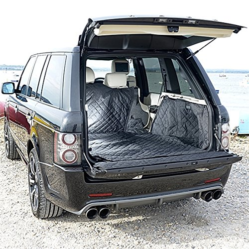 Range Rover Cargo Liner Trunk Mat - Quilted, Waterproof & Tailored - 2002 to 2012 (Generation 3)