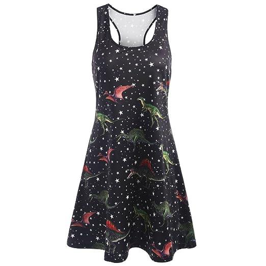 c3837db1ccd Amazon.com  Leewos Clearance! Tank Dresses