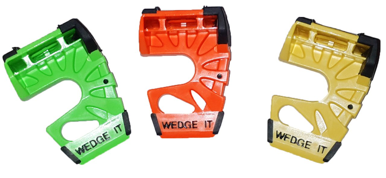 Wedge-It - The Ultimate Door Stop - Yellow