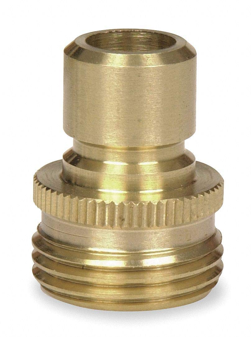 Brass Quick Connector, 5/8' GHT Connection - pack of 5