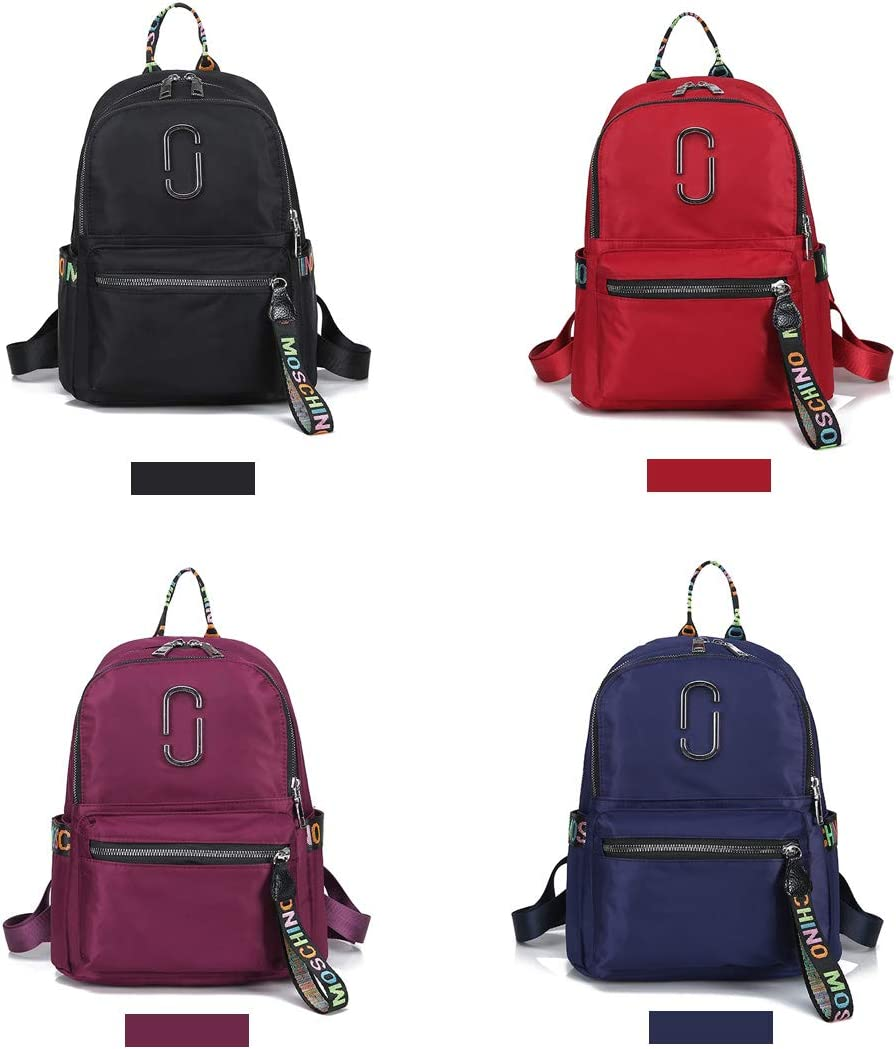 Fashion and Leisure Travel Work School Haoyushangmao The Girls Versatile Backpack is Perfect for Everyday Travel Color : Purple, Size : 23cm32cm13cm Outdoor Simple Design in Four Colors.
