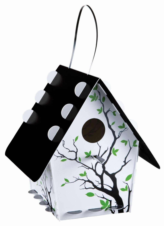 Group Tweet Tweet Home Nichoir classique en kit Plastique recyclable–Branche Silhouette D2F Group Ltd TT05